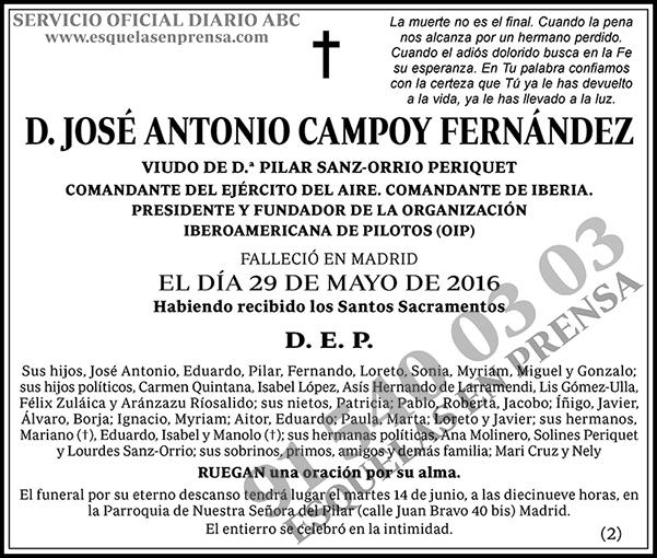 José Antonio Campoy Fernández
